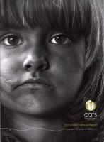 CAFS Child and Family Services Annual Report cover Together we make a difference Ballarat Australia