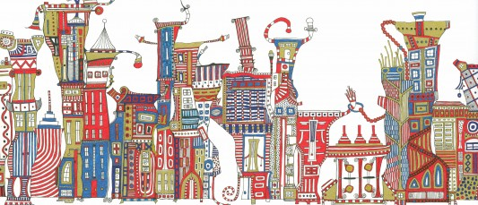 Urban Landscape (detail 2011)