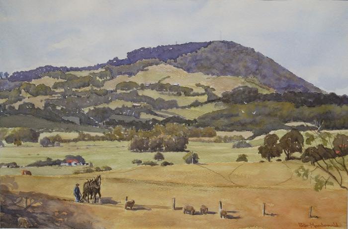 Buninyong Australia  city photos : Peter Macdonald Watercolour Artist – Central Highlands ArtsAtlas