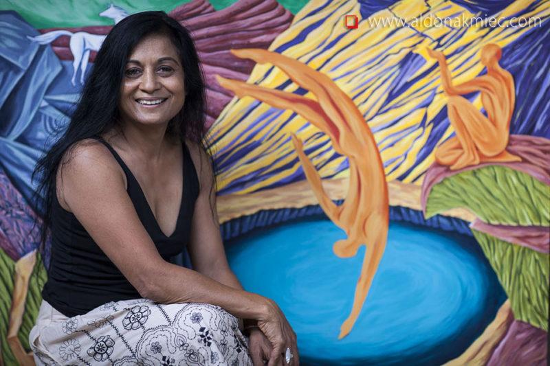Anu Patel international Artist portraits Bacchus Marsh Ballarat Bairnsdale