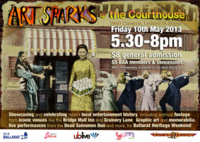 Art Sparks Flyer May 2013