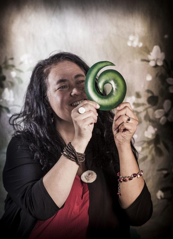 Maori Koru Spiral Aldona Kmiec Fine Art Portrait Photographer Ballarat Melbourne Australia