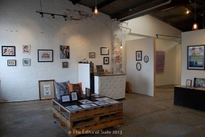 Gallery and retail space