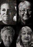 Aldona Kmieć Photography Under the Floorboards Mosaic Portraits Uniting Care Art Project Ballarat Australia