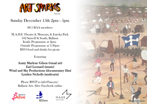 Art Sparks @ MADE e-flyer (flag version) small