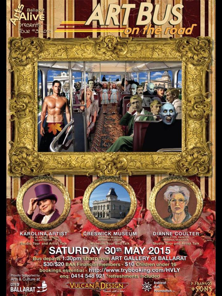 Ballarat Arts Alive ArtBus event
