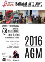 Ballarat Arts Alive Annual General Meeting Ballarat Art Gallery Annexe