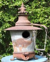 Up-cycled Birdhouse
