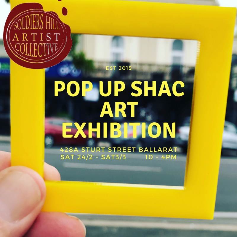 Soldiers Hill Artist Collective SHAC exhibition
