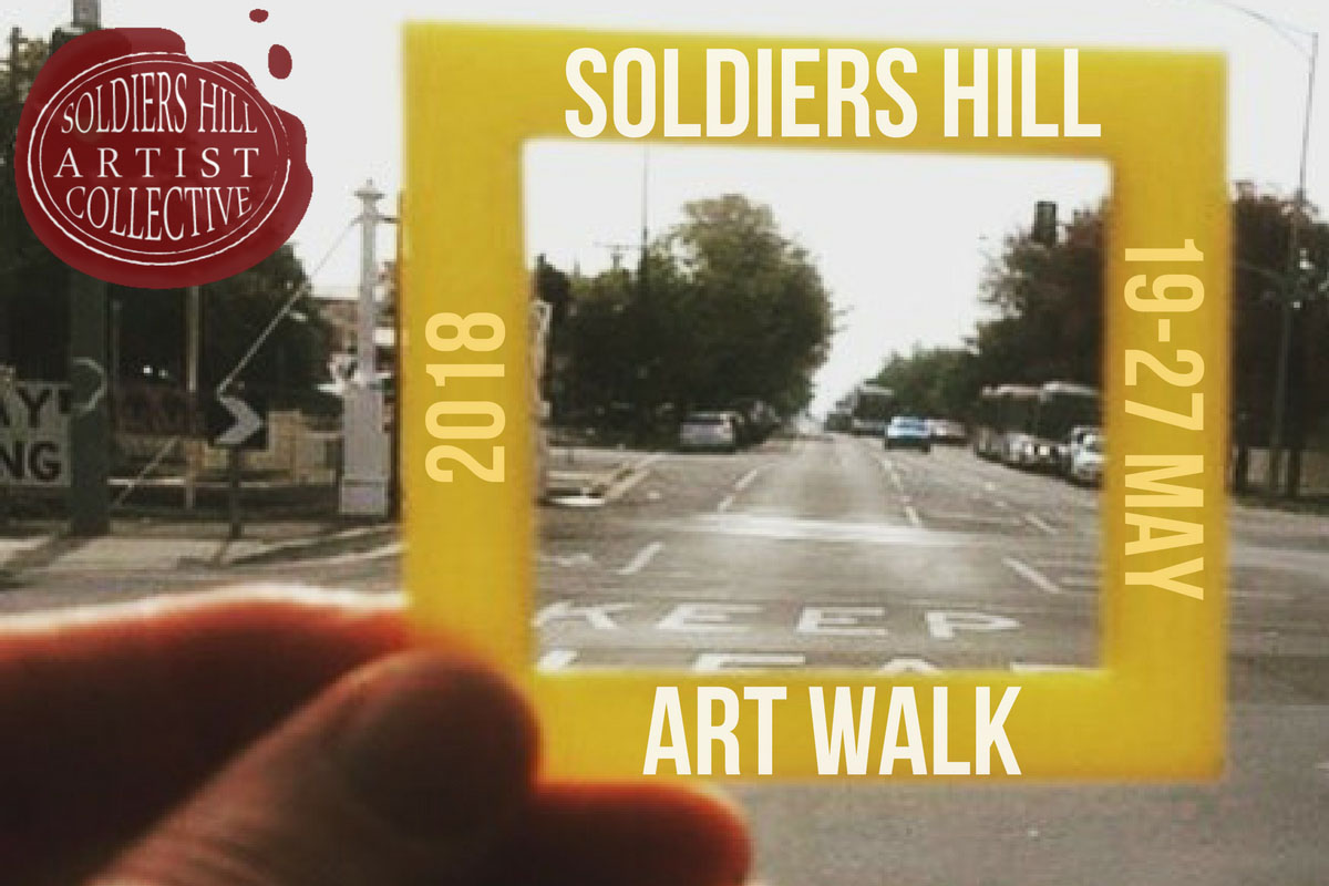 SHAC Ballarat Soldiers Hill Art Walk 2018