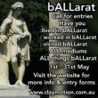 bALLarat – Call for Entries