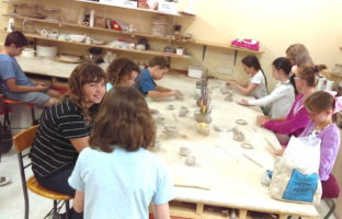 childrens pottery ClayMotion Ballarat Victoria