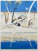 Arthur Boyd _ River Bride II landscape
