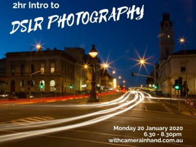 Photography workshop Ballarat