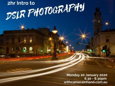 Photography workshop Ballarat